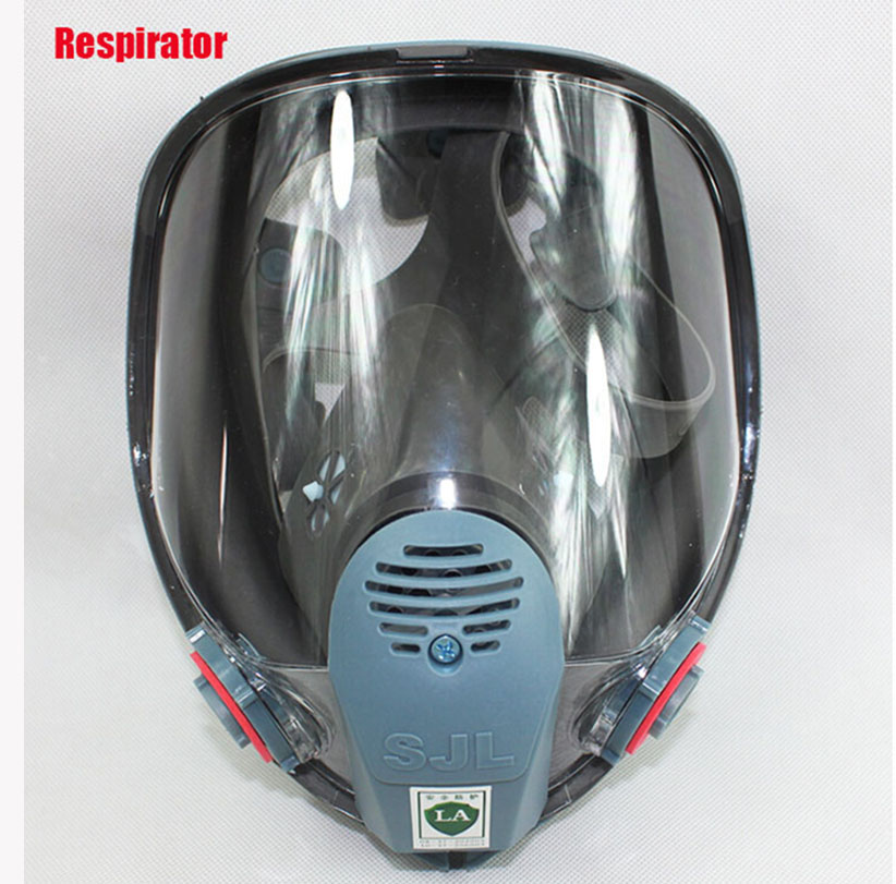 SJL Painting Spraying Respirator Gas mask Same For 3 M 6800 Gas Mask Full Face Facepiece