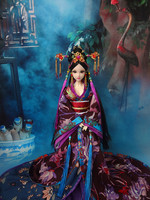 32cm Collectible Chinese Princess Dolls Vintage Han Dynasty Girl Dolls With Flexible 12 Joints Body/3D Realistic Eyes Gifts