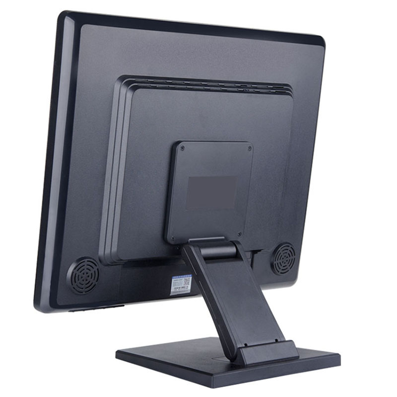 China factory ! 19 4 wire resistive touch monitor industrial monitor with VGA/BNC/USB/AV/HDMI input