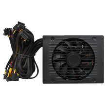 1800W Switching Power Supply 90% High Efficiency for Ethereum S9 S7 L3 Rig mining machine 180-260V the main board graphics card