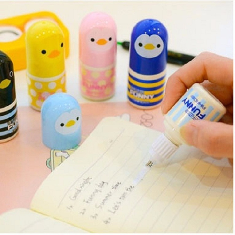 AIHAO Chicken Correction Fluid, supper cute, small and convenient Office & School Supplise AA0101 chicken school