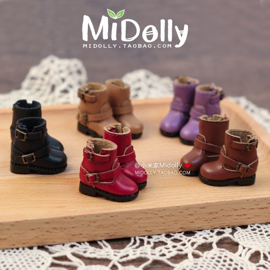 цены Free shipping High quality Handmade Short motorcycle boots Doll shoes,doll accessories for Blythe Azone Lati licca gift toys