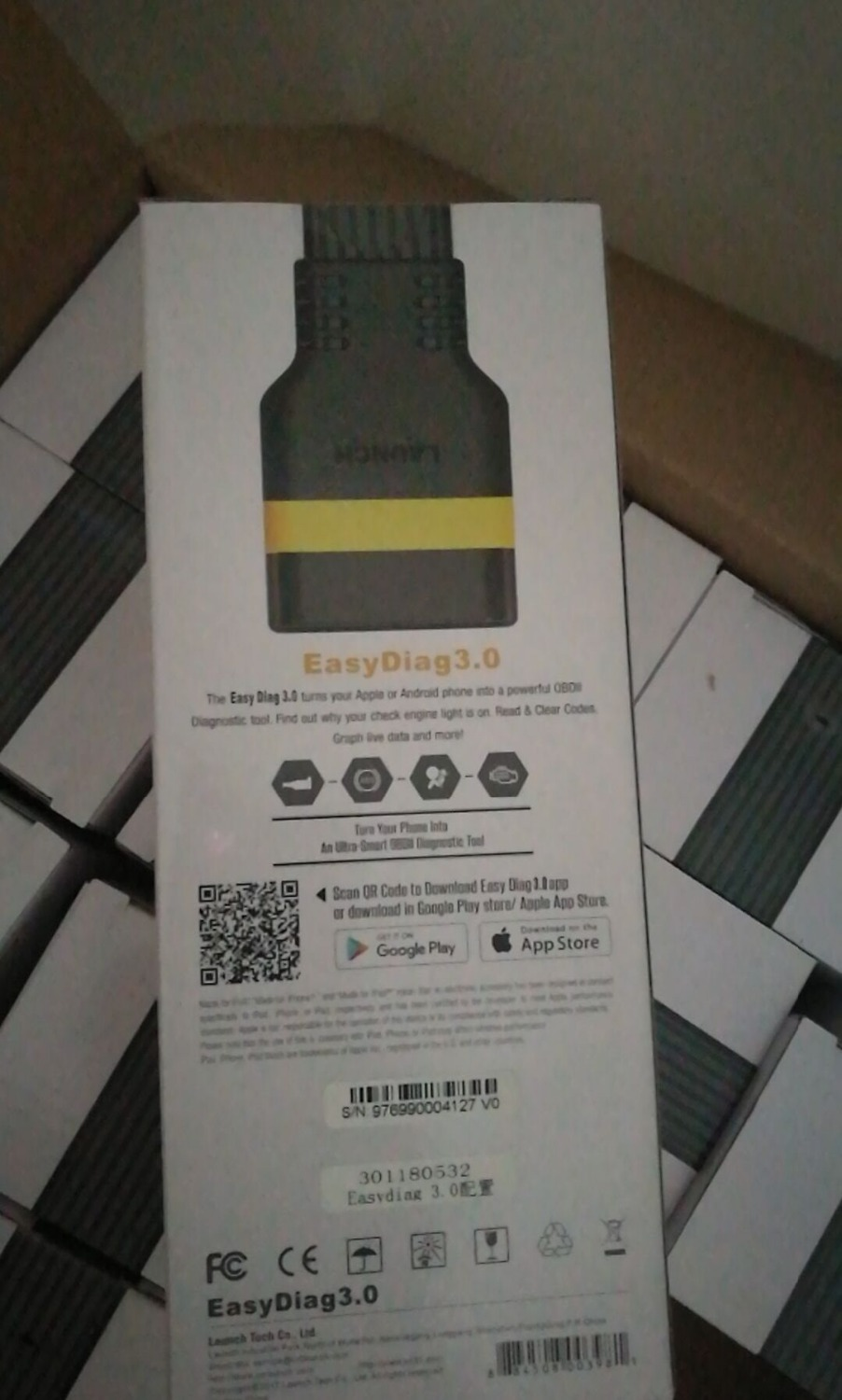 Image 5 - LAUNCH X431 EasyDiag 3.0 OBD2 Diagnostic Tool Easydiag 3.0 plus for Android system OBDII easydaig 2.0