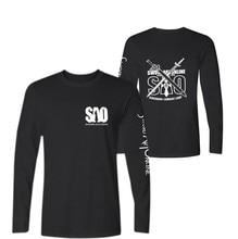 Japanese Anime T-shirt Long Sleeve For Men Spring Autumn Tee Shirt Men Cotton Fashion Tshirt Men Sword Art Online T Shirt Men