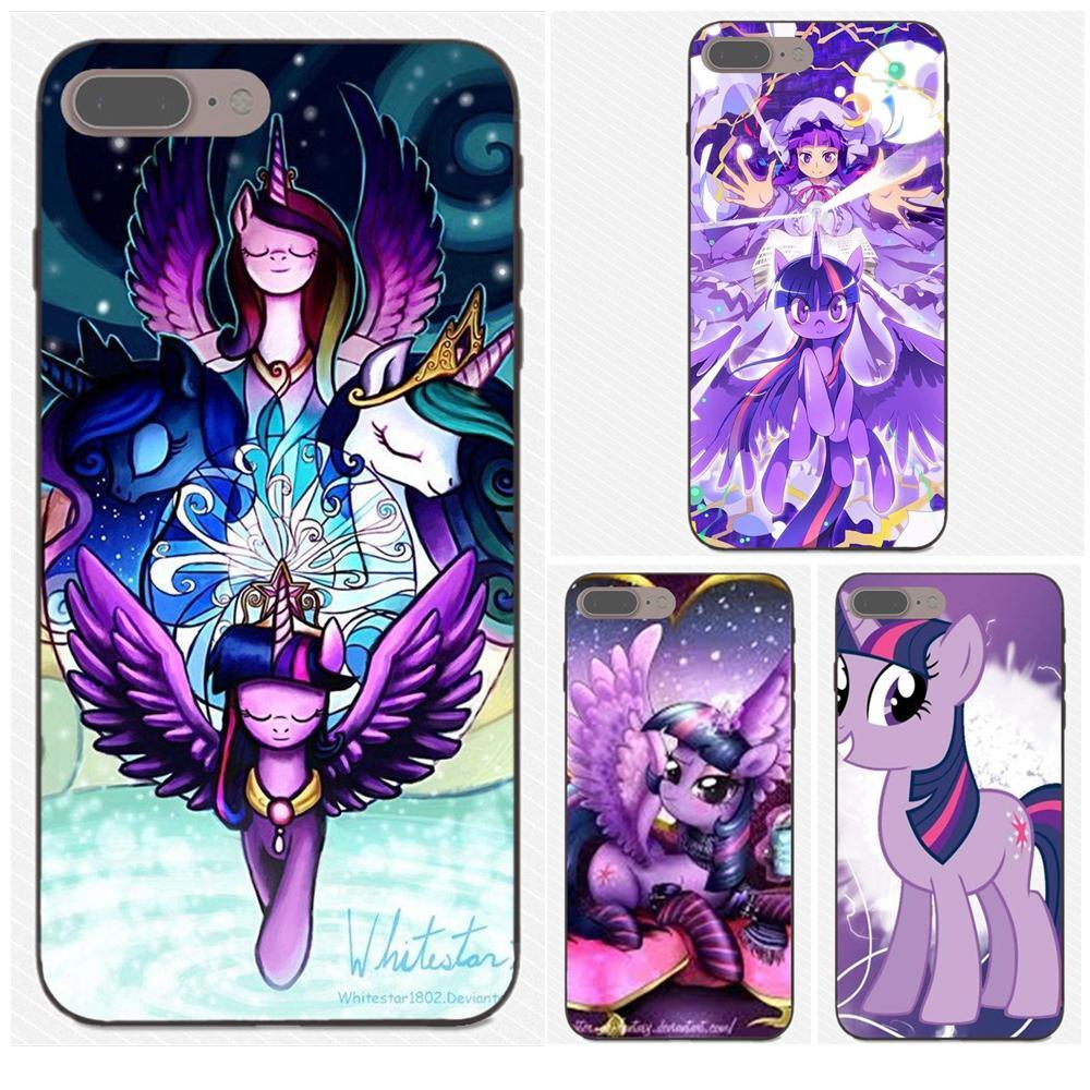 Soft New Fashion Cartoon My Little Pony Twilight Sparkle For Samsung Galaxy A3 A5 A6 A6s A7 A8 A9 Star Plus 2016 2017 2018