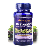 Resveratrol 100 Mg Healthy Aging Support 120 Pcs Free Shipping