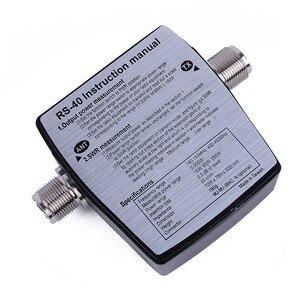 Image 2 - Accesorios de Walkie Talkie Brand New NISSEI RS 40 rango medible 200w, con conector adaptador, RS40 Power SWR Meter 144/430mHz