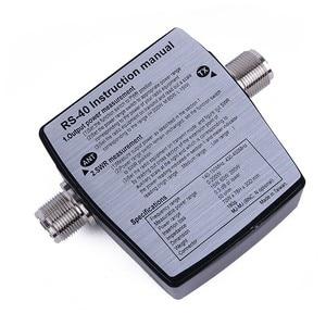 Image 2 - 워키 토키 액세서리 새로운 nissei RS 40 측정 범위 200 w, 어댑터 커넥터, rs40 전원 swr 미터 144/430 mhz