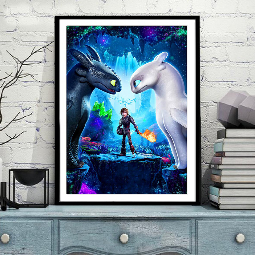 How to train your dragon 2 Movie poster 5D, diamond painting,cross stitch, 3d picture,full, diamond embroidery, mosaicHow to train your dragon 2 Movie poster 5D, diamond painting,cross stitch, 3d picture,full, diamond embroidery, mosaic