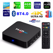MXR PRO Smart TV BOX Android 7.1 OS RK3328 Quad Core 4G/32G 4K HDR 3D 2.4G/5G Dual WIFI BT4.0 USB 3.0 TV Set-top Box OTT box