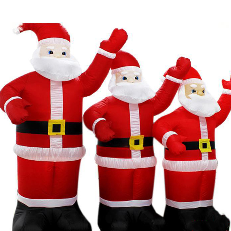 Clear Inventory 2.4m Chirstmas Decoration Supplies Santa Claus Inflatable  Christmas,lowes Christmas Inflatable Santa Claus In Party DIY Decorations  From ...