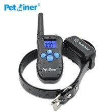 Petrainer 998dbb 1 coleira elétrica, para treinamento de cães, recarregável e à prova d água, para coleira de agilidade para treinador de cachorros médios ou grandes