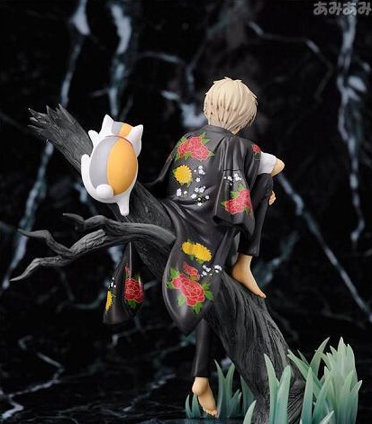 18cm Natsume Yuujinchou with Nyanko Sensei Action Figures PVC brinquedos Collection Figures toys for christmas gift
