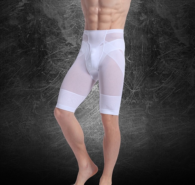 Men Thigh Shaping Breathable Underpants Shapewear