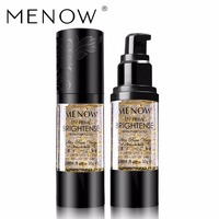MENOW Marke Super qualität Gold Feuchtigkeit Gel Makeup Primer ölsteuerung Nachschub Kosmetische gesichtspflege Creme Feuchtigkeitsspendende L1303