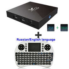 [Genuine] X96 Amlogic S905X Quad Core Android 6.0 TV Box 4K 2GB 16GB 2.4G Wifi HDMI Smart TV Media Player set top box mini pc