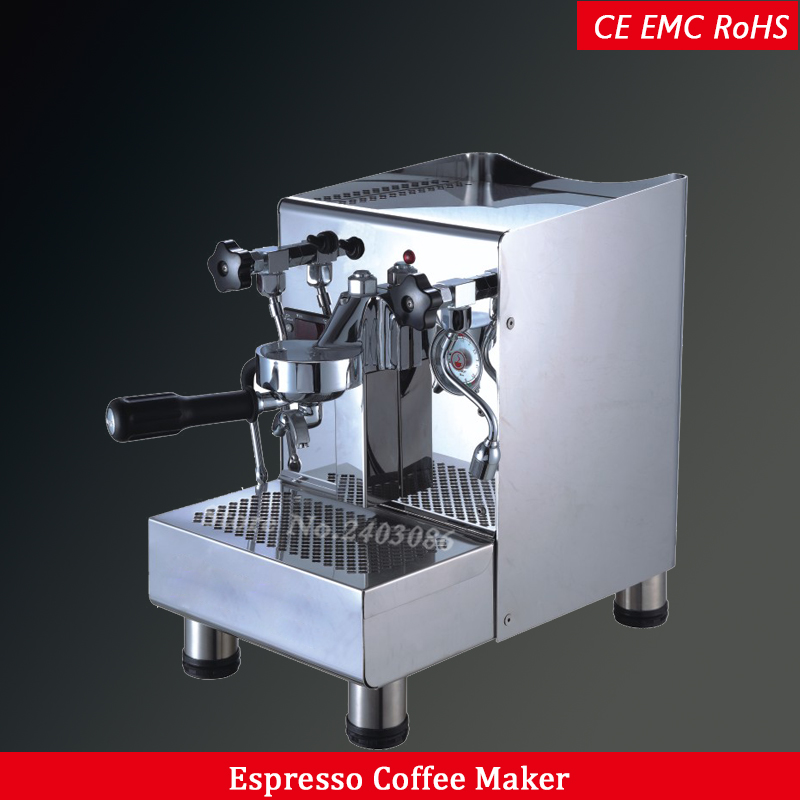 Professional commercial espresso coffee machine semi automatic electric coffee maker machine stainless steel single group