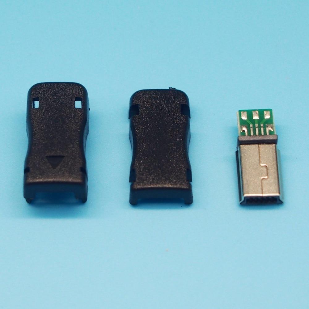 Datenkabel 10 Sätze/los 3 In 1 Mini 10 P 10pin Usb Jack Mini 10 P Usb Stecker Mit Kunststoff Shell Neueste Technik