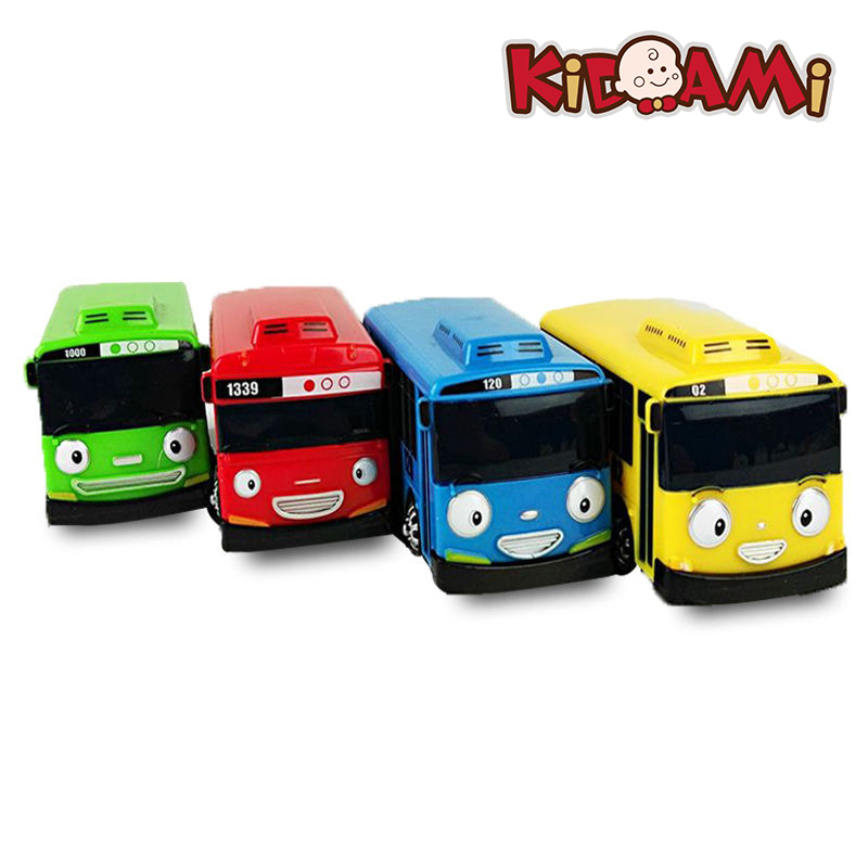 Tayo Little Bus Children Miniature Toys Korean cartoon character toys for children toddler Birthday Gift autos a escala thoma a bus for miss moss