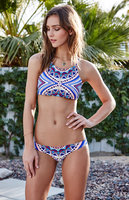 Ninacici Brazilian Thong Bikini Set 2017 Swimsuit Swimwear Women High Neck Women S Swimming Suit Biquini