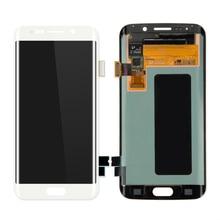200 PCS/Lot Top Kualitas Layar Ponsel Layar LCD untuk Samsung Galaxy S6 Tepi LCD Display Digitizer Penggantian