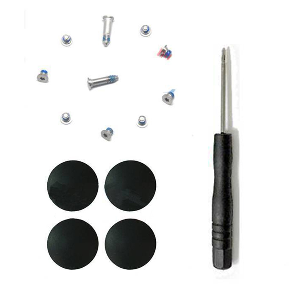 Rubber Screw Kit Bottom Case Screwdriver Feet Cover Tool Foot Accessories Replacement For Macbook Air