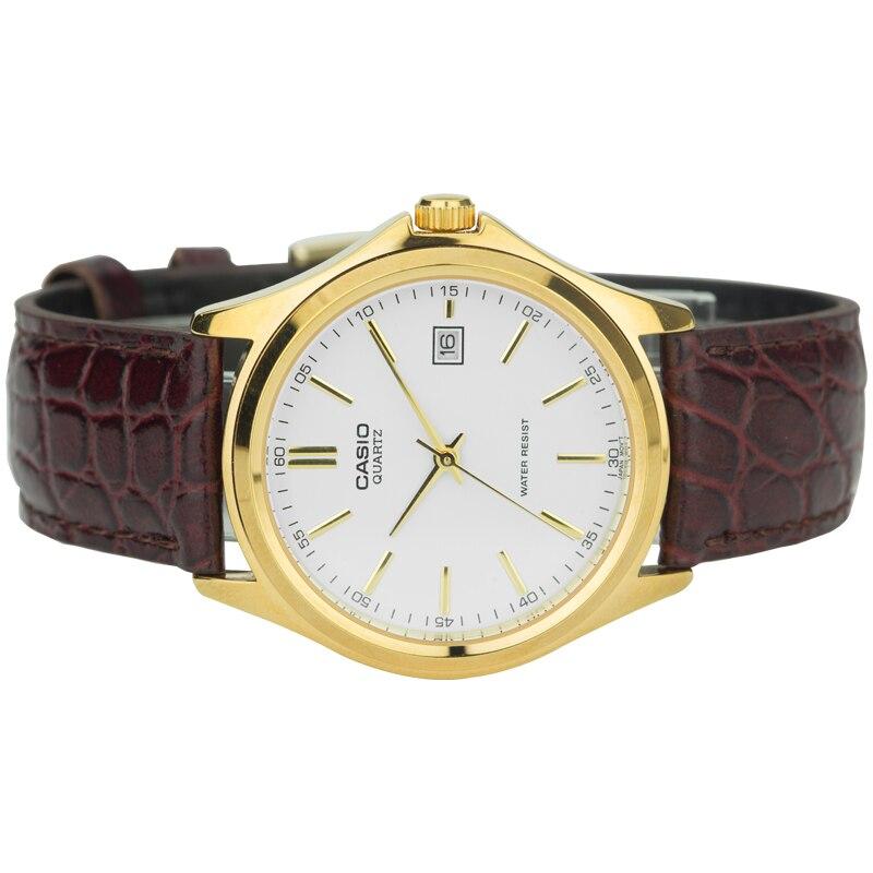 Casio Watch Pointer Men's Watch Gold Case Quartz Watch MTP-1183Q-7A