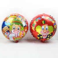 Commercio all'ingrosso 50 PZ/LOTTO patata patati palloncini festa stagnola dell'aria/mylar ballon per la festa di compleanno forniture pagliaccio globos misto 18 pollici