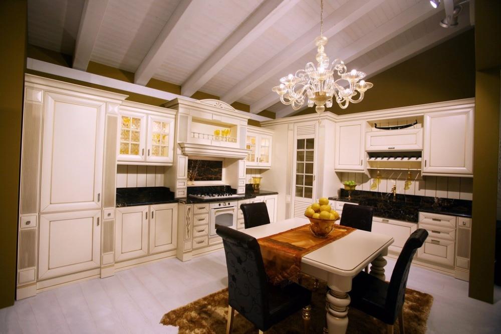 Modernos gabinetes de cocina de cristal de alta calidad   compra ...