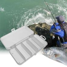 Storage-Case Fishing-Lure-Hook Plastic Outdoor-Fish Bait for 5-Part Eco-Friendly Portable