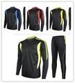 2016 New Men Sport Soccer Jerseys Training Football Running Tracksuits Suit Futbol Sweatshirt Football Sportswear Long sleeve