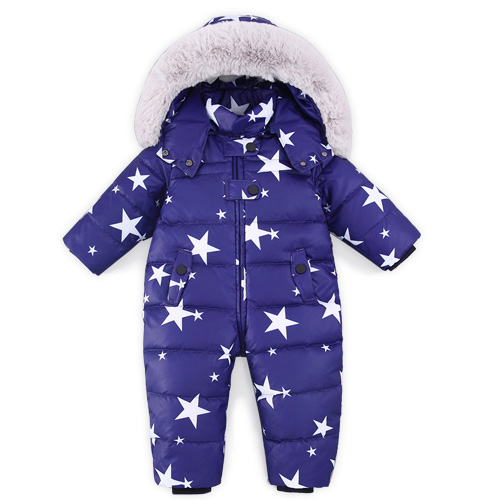 6c79fce5b481 Children Newborn Winter Rompers Duck Down Jumpsuit Kids Clothing ...