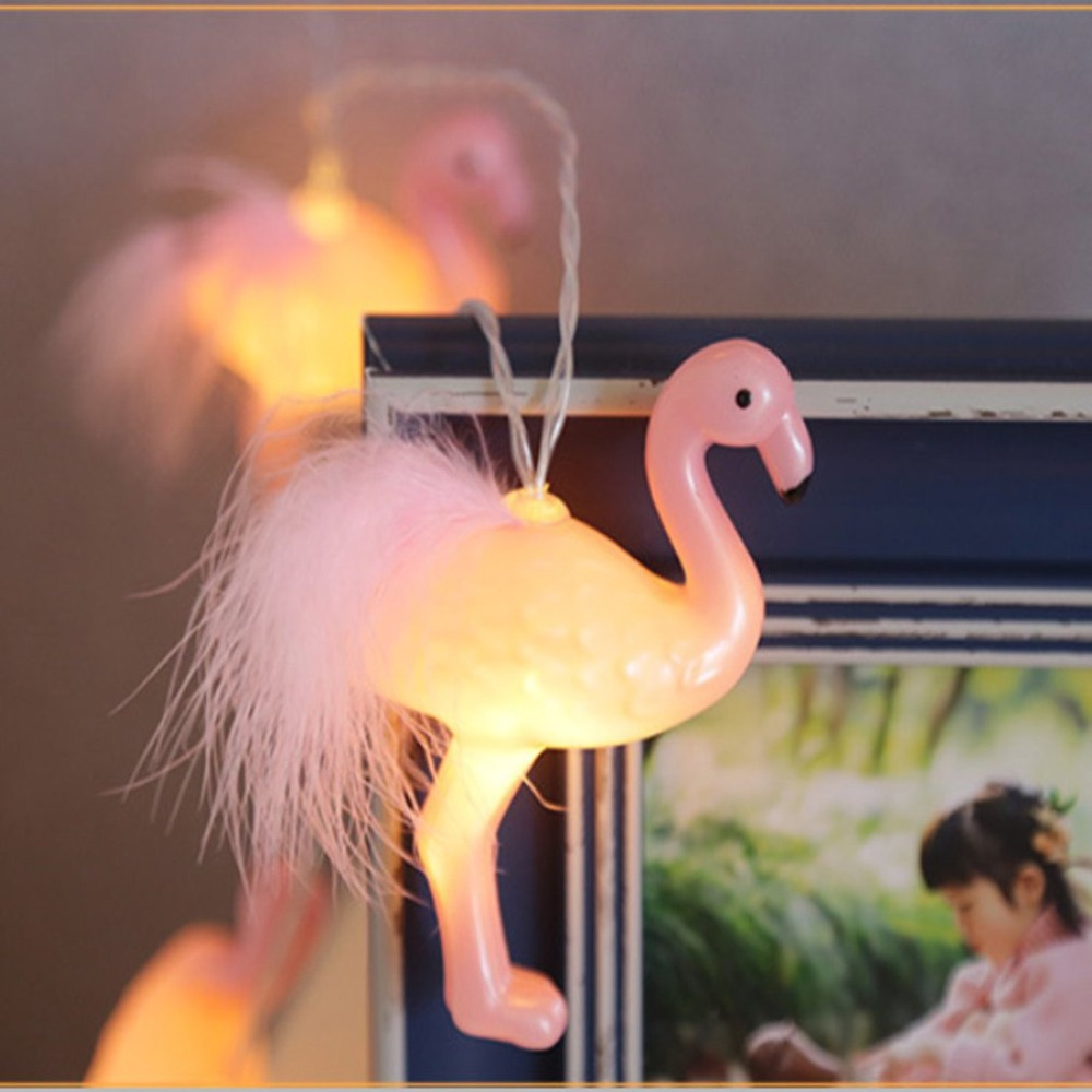 Led Flamingo String Lights Holiday Decoration String Eye Protection Beauty And Comfort Warm Atmosphere