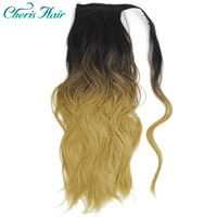 Synthetic Ponytail Hair Extension Body Wave Ponytail Hair Extension De Cabello Clip on Ponytails Curly Ponytail Hair Pieces