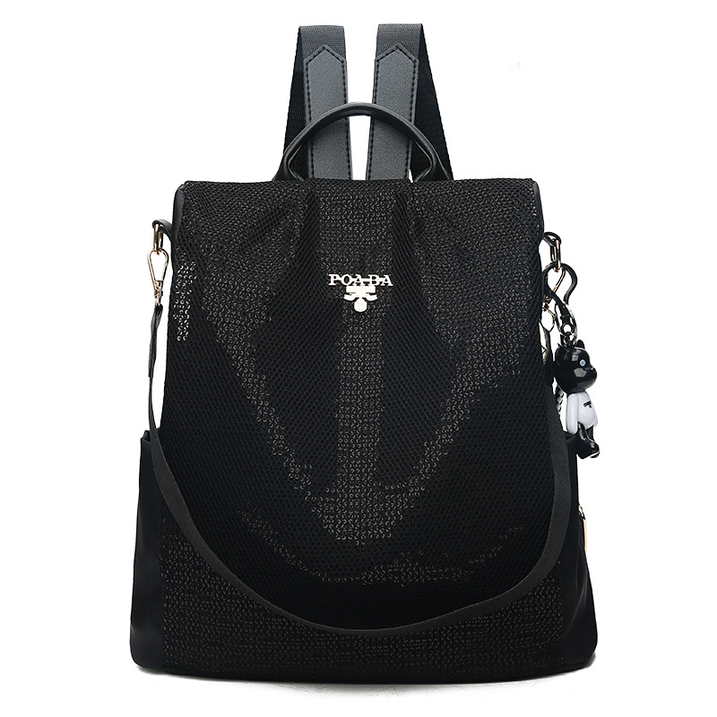 Fashion Backpack Women Oxford Sequin Bagpack Female Anti Theft School Bag for Teenager Girls Sac A Dos mochila mujer