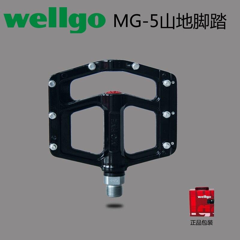 Wellgo Xpedo ultraléger en alliage de magnésium scellé roulement pédales vtt vélo Bmx Pedales Bicicleta vtt pièces 7 couleurs