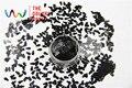 Resistente a los Disolventes TCP16 utra thin Color Negro Pingüino forma Glitter 5.0 MM Brillo de uñas de Arte de uñas de gel