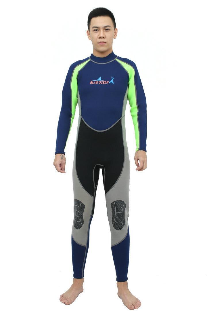 სკუბი diving wetsuit 3mm 2MM ლუქსი - სპორტული ტანსაცმელი და აქსესუარები - ფოტო 2