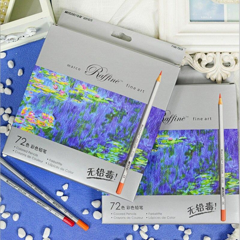 Marco Raffine Fine Art 72Colors улы емес түсті қарындаштар