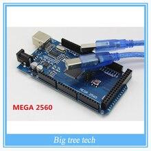 Бесплатная доставка!!! мега 2560 R3 Mega2560 REV3 ATmega2560-16AU Совет + Кабель USB Совместим Хорошее Качество Низкая Цена
