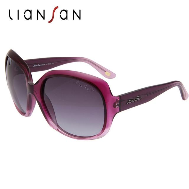 ec3a9f8963f1c LianSan Vintage Oversized Polarized Acetate Sunglasses Women Luxury Brand  Designer Driving Sun Glasses Butterfly LS3113