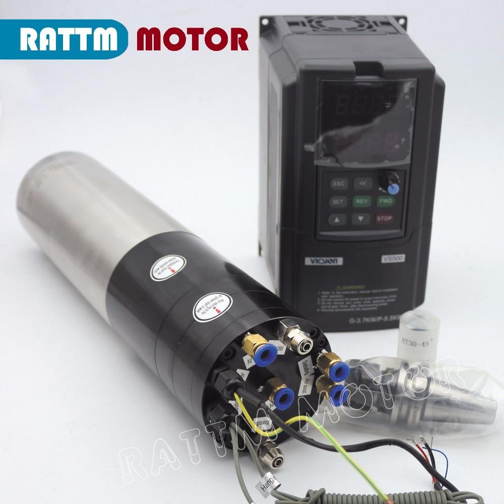 3KW CNC ATC MOTORE MANDRINO KIT BT30 e 3.7KW SUNFAR marca Inverter 380 v PER CNC di FRESATURA MACCHINA