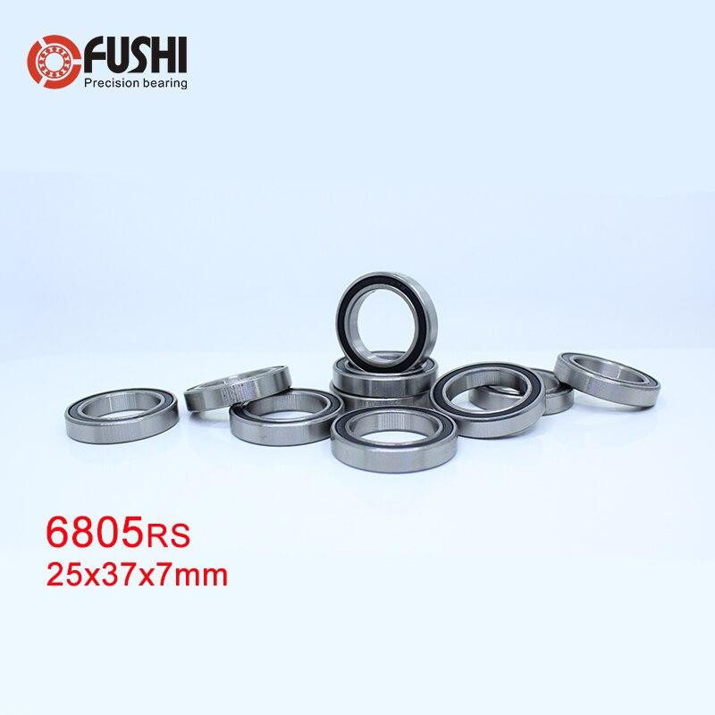 6805 2rs Bearing 25 37 7 Mm 10 Pcs Abec 1 Metric Thin