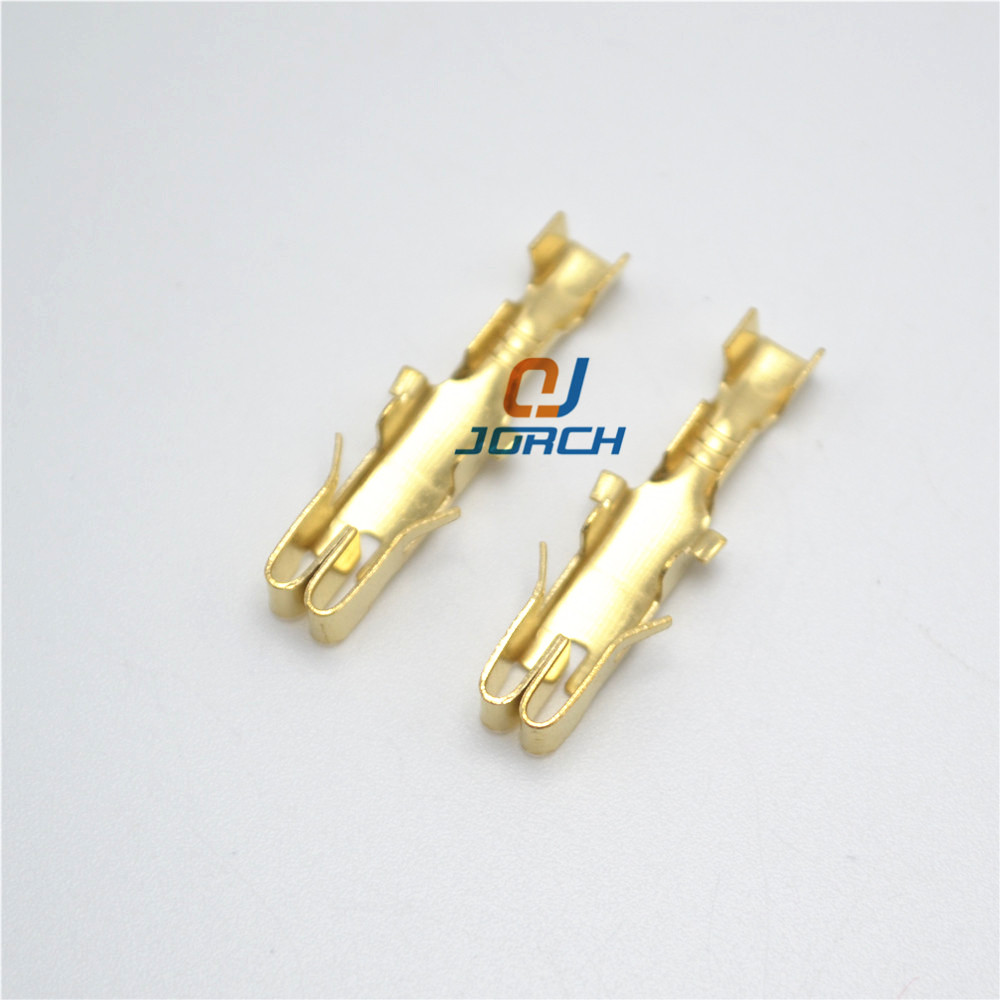 small resolution of free shipping 100pcs crimping terminal delphi type fuse box box fuse holder car splices wire terminals for vw audi bx2201 2