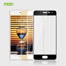 For Meizu Professional 7 Glass Tempered Authentic MOFi Full Cowl Protecting Movie Display Protector for Meizu Professional 7 Tempered Glass Movie