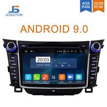 JDASTON Android 9.0 Lettore DVD Dell'automobile Per Hyundai I30 Elantra GT 2012-2018 WIFI Multimedia GPS Stereo 2 Din auto Radio registratore a nastro