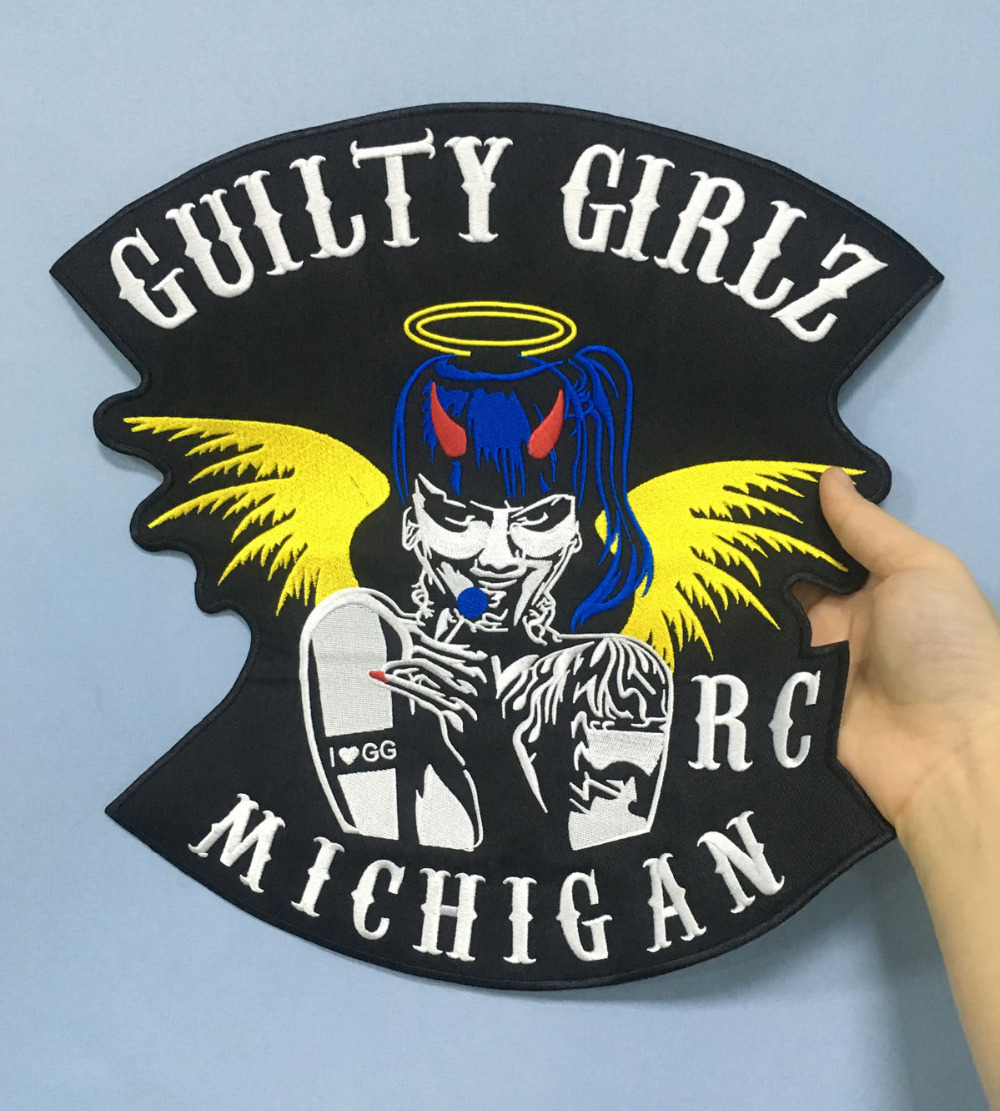 LTY GIRLSBIKER RC MICHIGAN MOTORCYCLE CLUB PATCH (2)
