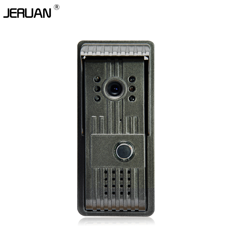 JERUAN METAL Outdoor camera doorphone video door phone IR camera free shipping yobang security metal outdoor unit ir door camera for doorphone monitor rainproof outdoor camera for video door phone no screen