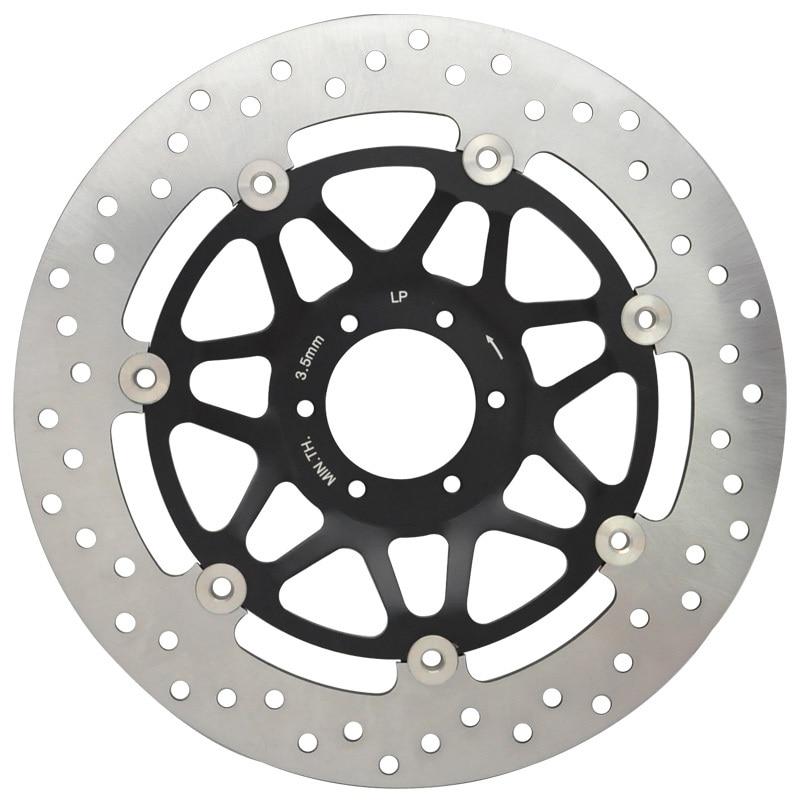 Motorcycle Front Left Brake Disc Rotor Fit RS125 RS250 CB400 CBR400 RVF400 VFR400 CBR600 CBR900RR VFR750 VFR1000 CBR 400 600 900