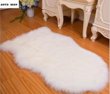 Sofa mats living room European whole sheepskin carpet bedroom Bedside Bayonet plush cushion customize plush mat floor mat
